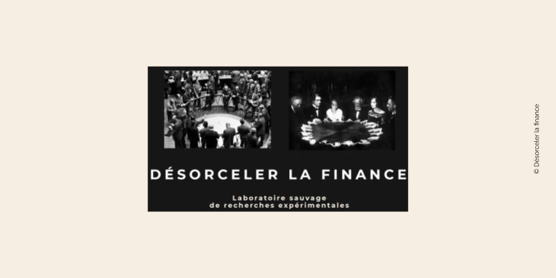 Page d'accueil de Désorceler la finance
