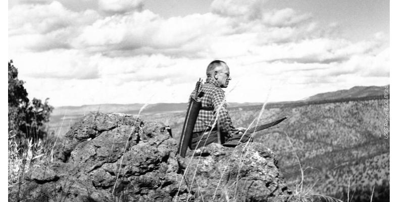 Photo d'Aldo Leopold