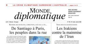 Page d'accueil du Monde diplomatique
