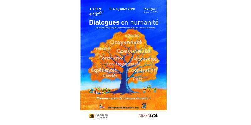 Affiche des dialogues en humanité