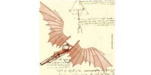 Célèbres croquis de Léonard de Vinci s'inspirant des oiseaux