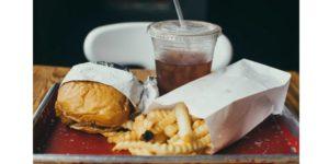 aspect répugnant du fast food