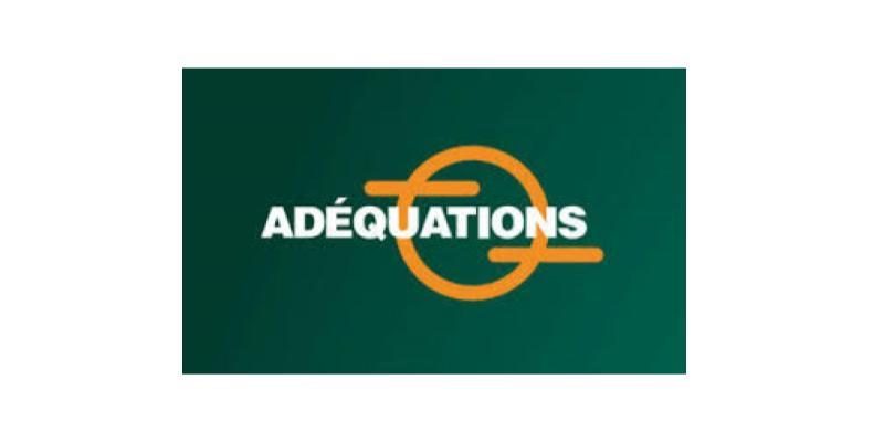 Logo de l'association Adéquations