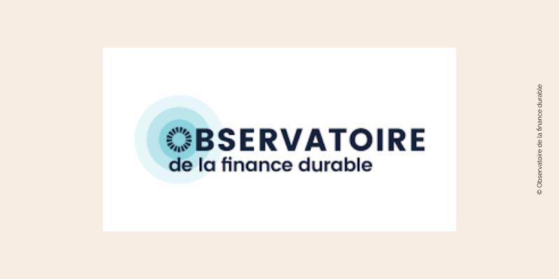 Logo de l'Observatoire de la finance durable