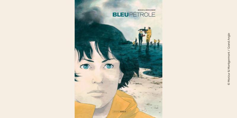 Couverture BD Bleu Pétrole