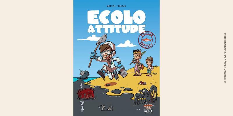 Couverture BD Ecolo Attitude
