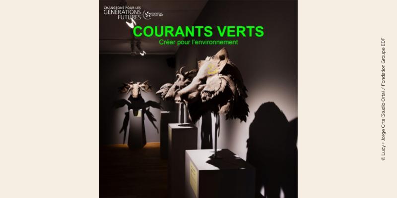 Photo œuvre de Lucy + Jorge Orta issue du catalogue Courants verts