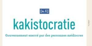 Visuel pour la kakistocratie
