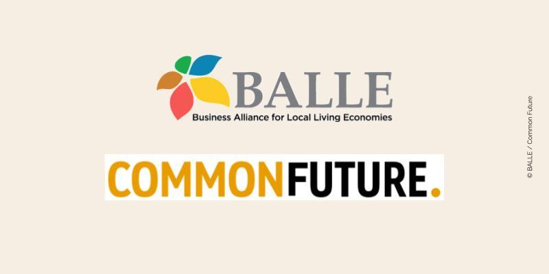 Logos de BALLE et Common Future
