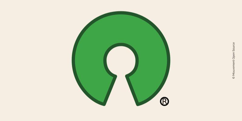 Logo du mouvement Open Source