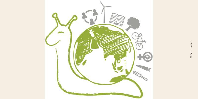 Logo Décroissance escargot