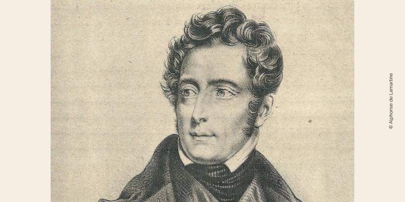 Gravure d'Alphonse de Lamartine