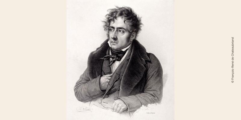 Gravure de Chateaubriand