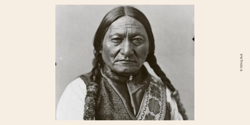 Photo Sitting Bull pour illustrer l'esprit de rapacité