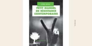 Première de couverture du Petit Manuel de résistance contemporaine